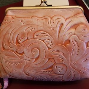 Patricia Nash Savena Tuscan Tooled NWT
